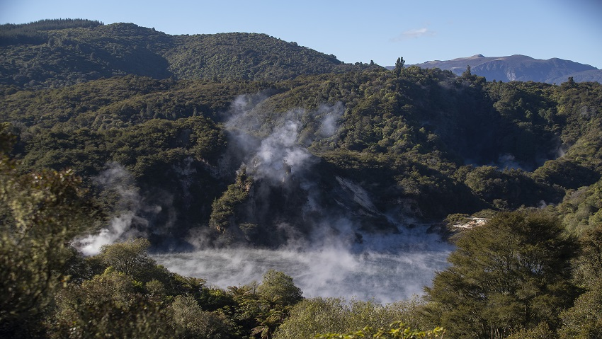 Waimangu Volcanic Valley awarded for excellence in tourism