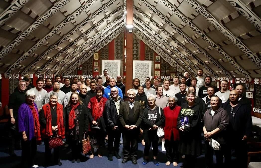All Blacks hosted at Rangitihi Marae